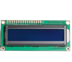 2x16 LCD Display Mavİ
