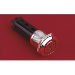 19mm Ledli Metal Buzzer