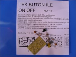 TEK BUTON İLE ON-OFF