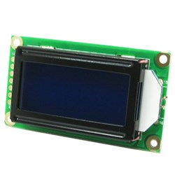 2x8 Lcd  Display (Mavi)
