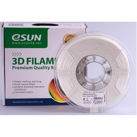 Esun PLA Plus+ Beyaz filament 1.75mm  1kg